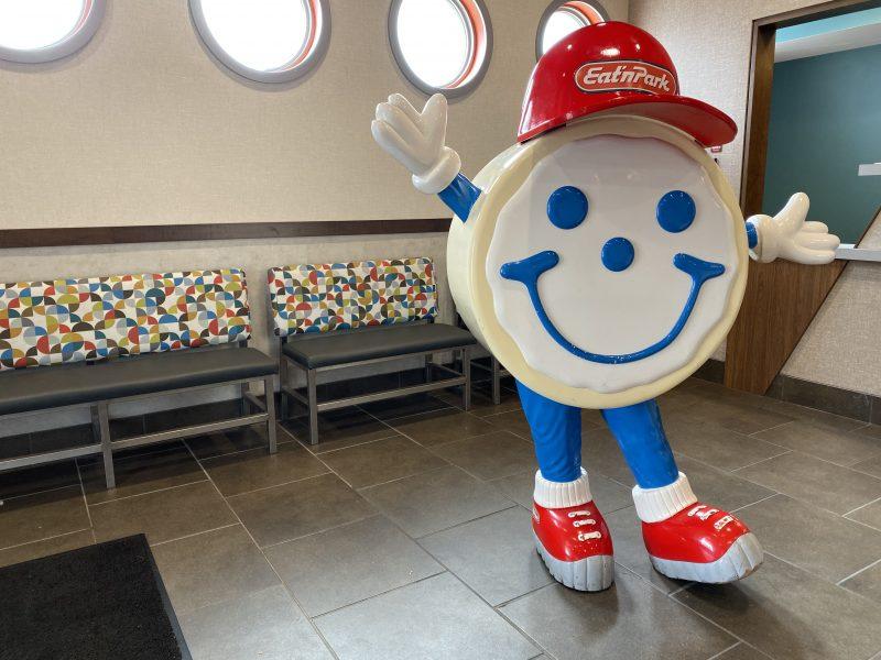 Eat N Park Cookie Mascot