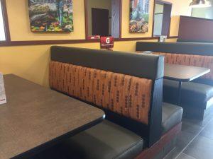 Custom Restaurant Upholstery