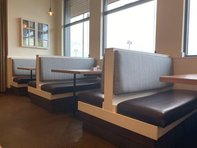 Brown Restaurant Booths