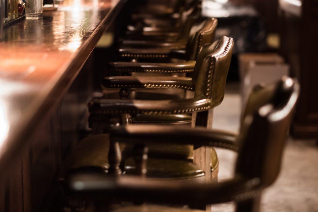 bar stool custom upholstery